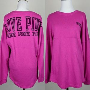 Victoria's Secret Pink Love Long Sleeve Sweatshirt